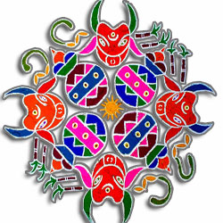 Indian Floor Decorations , Indian Floor Decorations Manufacturers